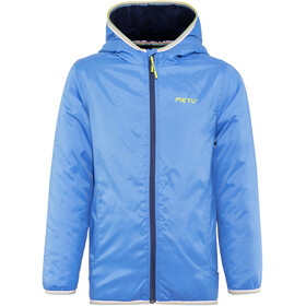 Meru Stayton Teddy Fleece Jacket Kids Blue